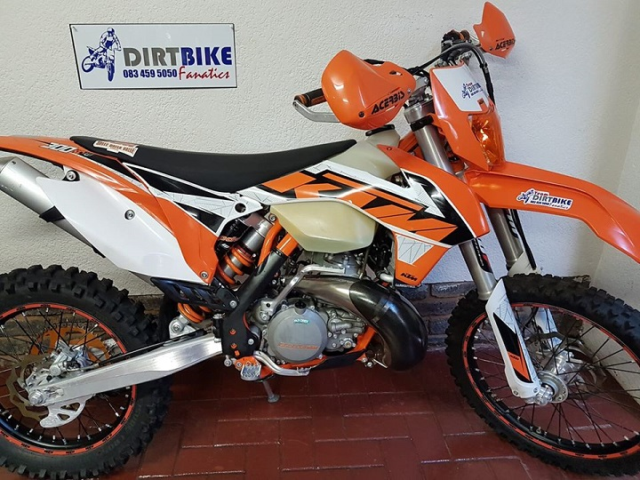 2016 KTM 300 XCW R69,950 db bike orange